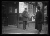 News office storefront, Portland, ca. 1918