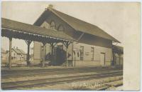 Steep Falls Railroad station
