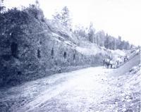 Building the Fish River Railroad, Fort Kent, ca. 1902