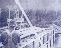 Fish River bridge building, ca. 1902
