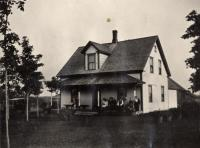 Carl G. Ekman house, New Sweden, ca. 1922