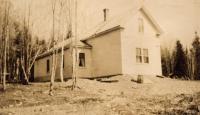 John E. Peterson house, New Sweden, ca. 1922