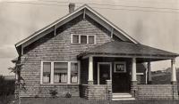 John W. Johnson house, New Sweden, ca. 1922