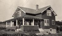 John Lund house, New Sweden, ca. 1922