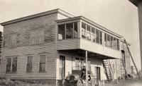 Oscar Olson's store, New Sweden, ca. 1922