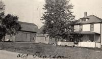 Olof Person farm, New Sweden, ca. 1922