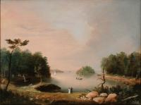 Diamond Cove, Great Diamond Island, ca. 1836