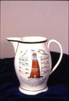 Commemorative pitcher, 1807