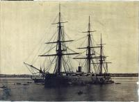HMS Monarch, Portland Harbor, 1870