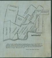 Modern rendering of John Small's map of Falmouth, 1753