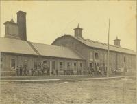 Workers, Pejepscot Paper Mill, Topsham, ca. 1880