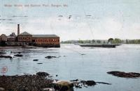 Water works and salmon pool, Bangor, ca. 1906