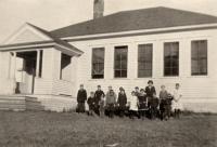 Center Skolan, New Sweden, ca. 1922