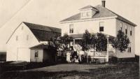 Olof Olander house, New Sweden, ca. 1922