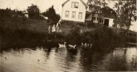 Henning W. Mattson farm, New Sweden, ca. 1922