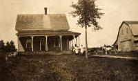 Carl A. Olivenbaum farm, New Sweden, ca. 1922