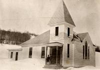 Jemtland Baptist Church, New Sweden, ca. 1922