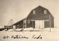 H. A. Peterson barn, New Sweden, ca. 1922