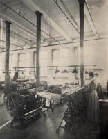 Warping silk, Haskell Silk Company, 1907