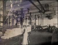 Raw silk, Haskell Silk Mill, Westbrook, 1907