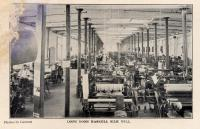 Loom room, Haskell Silk Mill, Westbrook, 1907