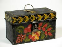Painted document box, Portland, ca. 1825