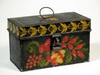 Painted document box, Portland, ca. 1825