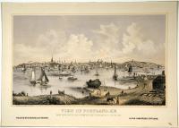View of Portland, ca. 1866