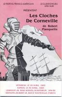 Program, 'Les Cloches de Corneville,' Lewiston, 1983