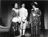 St. Dominic High School theater production, Lewiston, 1978