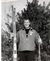 Pleasant Mountain ski instructor, ca. 1965