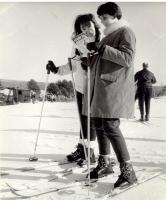 Skiers, Pleasant Mountain, Bridgton, 1963
