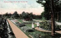 Garden at Beau Desert, Bar Harbor, ca. 1909