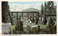 Italian Garden, Bar Harbor ca. 1910