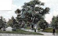 Village Green from Main Street, Bar Harbor, ca. 1908