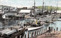 Docks at Bar Harbor, ca. 1910