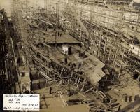 Shipbuilding, South Portland, 1943