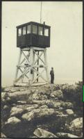 Sally Mountain fire tower, 1932