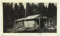 Forest Department camp, Tumbledown, ca. 1925