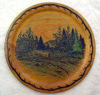 Decorative plate, 1942