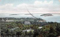 Strawberry Hill view, Bar Harbor, ca. 1910
