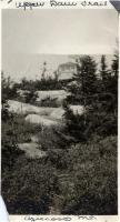 Upper Dam Trail, Aziscoos Mountain, ca. 1929
