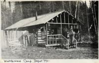 Watchman's camp, Depot Mountain, ca. 1920