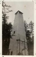 Washington Bald Mountain fire lookout tower, ca. 1920