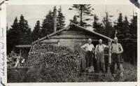 White Cap Mountain fire lookout camp