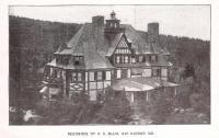Residence of D. C. Blair, Bar Harbor, ca. 1900