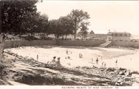 Bathing Beach at Bar Harbor, ca. 1920