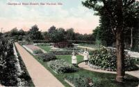 Garden at Beau Desert, Bar Harbor, ca. 1900