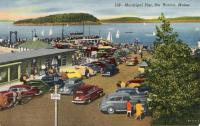Municipal Pier, Bar Harbor, ca. 1940