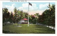 Village Green In Bar Harbor